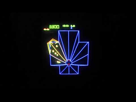 1981 Atari Tempest Arcade Video Gameplay HD