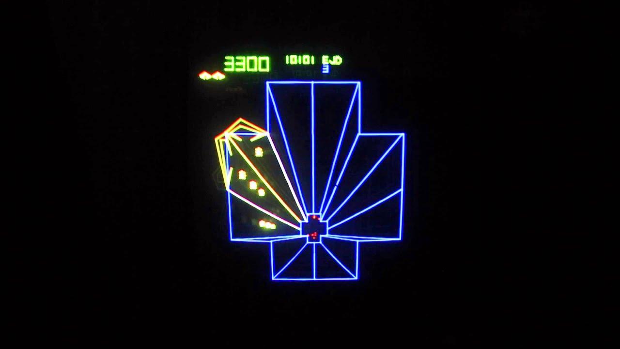 ATARI TEMPEST VECTOR ARCADE VIDEO GAME AT www.pinballrebel.com