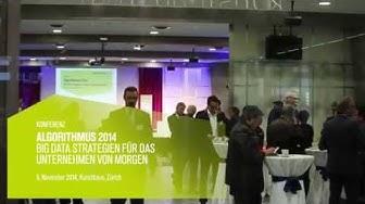 """Tages-Anzeiger Forum """"Algorithmus 2014"""" - 5. November 2014, Kunsthaus, Zürich"""