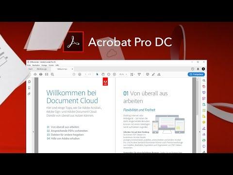 Das Große Adobe Acrobat Pro DC (Tutorial) Alles Für Deine PDF-Bearbeitung