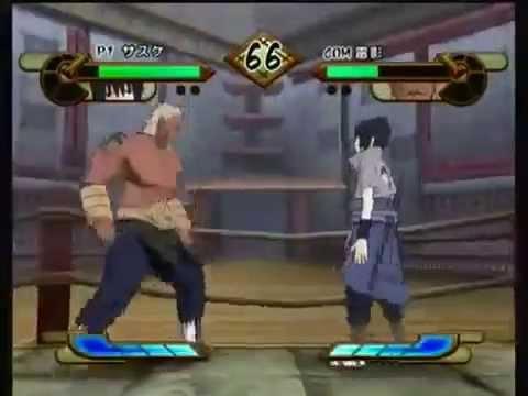Naruto Shippuden Gekitou Ninja Taisen Special Sasuke Vs Raikage