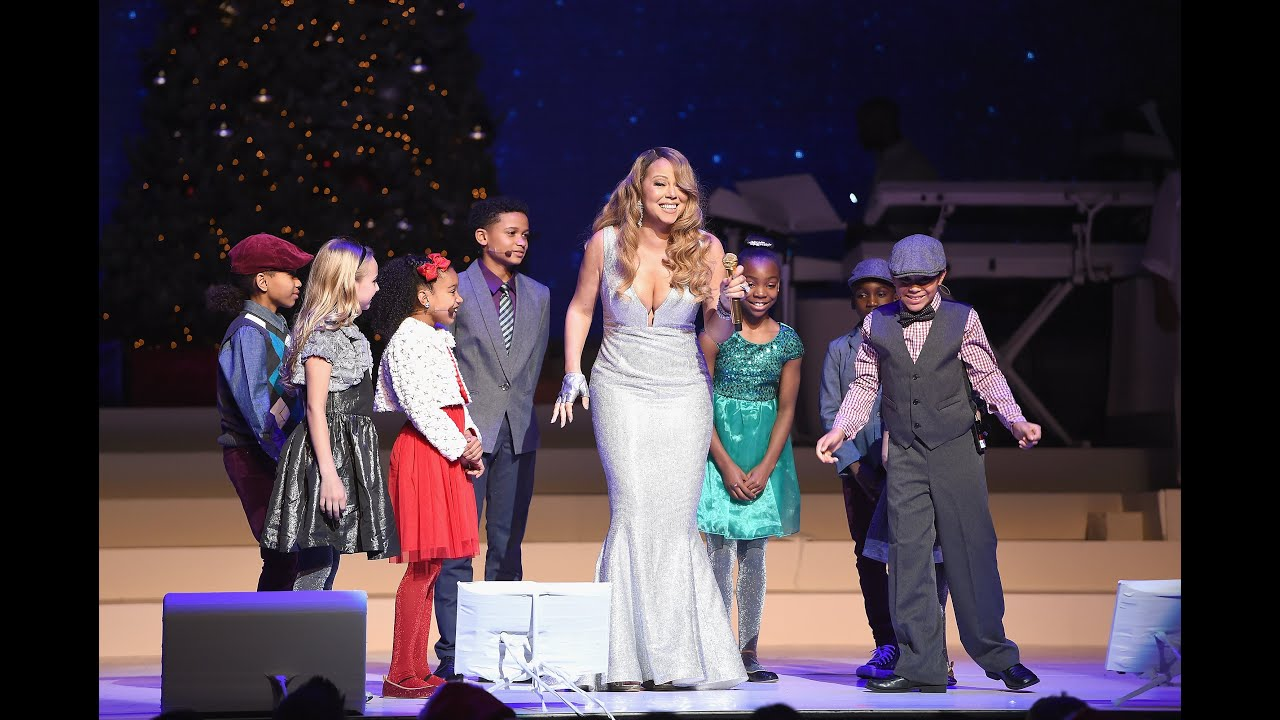 mariah carey all i want for christmas is you opening night youtube