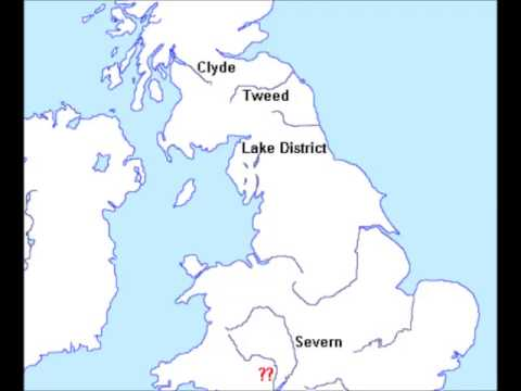 Locate and name major rivers in the UK.