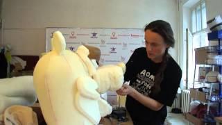 Как сделать Медведя ростовую куклу видео № 1