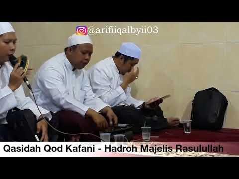 Qasidah Qod Kafani - Hadroh Majelis Rasulullah ( Terbaru )