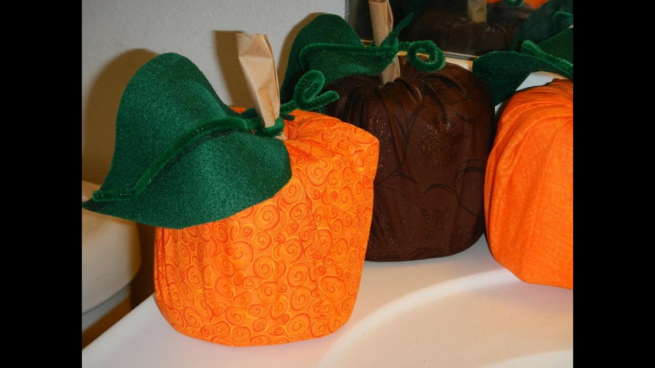 Pumpkin Roll Toilet Tissue Craft Perfect For Halloween