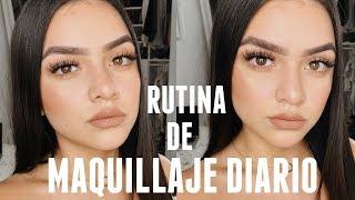 MI RUTINA DE MAQUILLAJE DIARIO 2018!♡