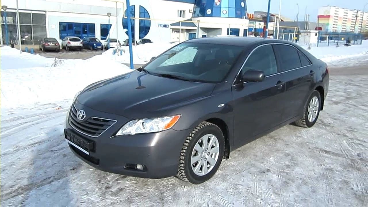 2007 toyota camry 2 4 start up engine and in depth tour. Black Bedroom Furniture Sets. Home Design Ideas