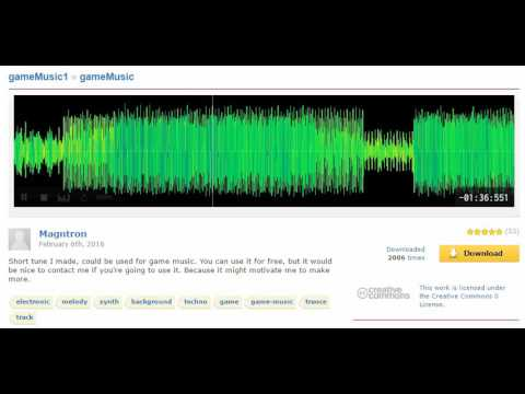 [Freesound] gameMusic - Magntron - Techno - Trance- Background Music - Instrumental - CC0