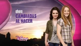 Disney Channel España - Cortinilla Ahora Cambiadas al Nacer (nuevo logo 2014)