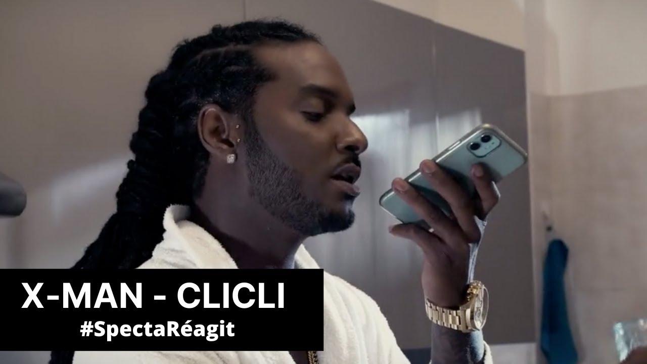 Download X-man sort CliCli 😱 #SpectaRéagit