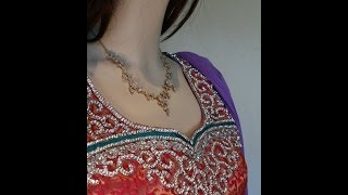 Lavendar and pink red anarkali- https://www.facebook.com/ShamaBoutique Thumbnail