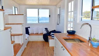 Graduate Seaside Tiny House On Wheels By Designer Eco Homes   Living Design For A Tiny House