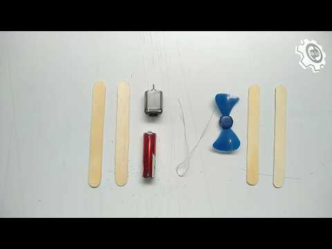 How to make A Plane with DC Motor - Toy Wooden Plane DIY   Popsicles Sticks Airplane