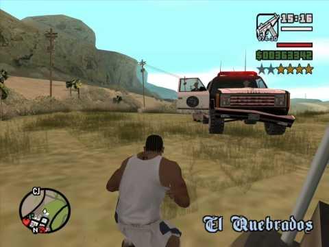 Играем в GTA San Andreas Multiplayer - Часть 3 (девка вылезающая из колодца)