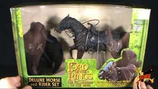 Spooky Spot - Toybiz The Lord of the Rings The Fellowship of the Ring Ringwraith and Horse