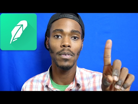 How To Invest $1000 In 2018! With the RobinHood App!