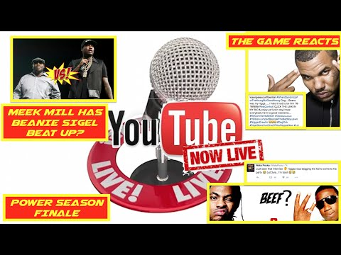 Meek Mill FIghts Beanie Sigel? Game and Beanie Respond, GUCCI vs WAKA? | DAILY HIP HOP LIVE