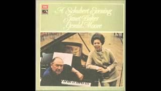 Silent Tone Record/「A Schubert Evening」歌曲集/ジャネット・ベイカー、ジェラルド・ムーア/HMV:SLS 812/クラシックLP専門店サイレント・トーン・レコード
