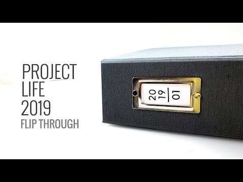 Project Life Flip Through 2019 | Vol. 1