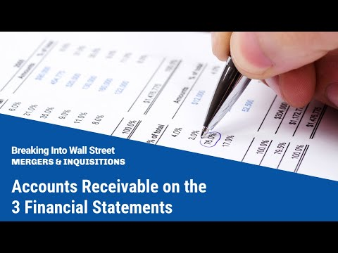 Accounts Receivable on the 3 Financial Statements