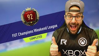 92 IN THE WORLD TOP 100 REWARDS! NEW FORMATION FIFA 18 Ultimate Team Road To Fut Champions #132 RTG
