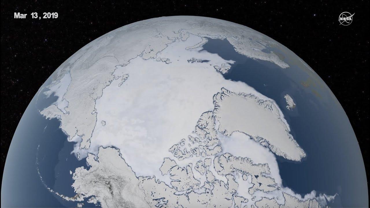 2019 Arctic Sea Ice Maximum Continues Trend of Decline