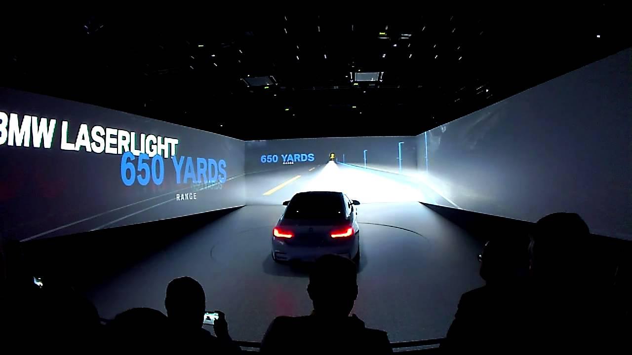 BMW M4 Laser Light Concept At CES 2015 1615  YouTube