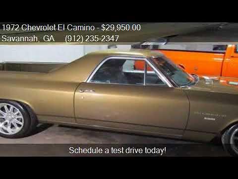 1972 Chevrolet El Camino for sale in Savannah, GA 31415 at