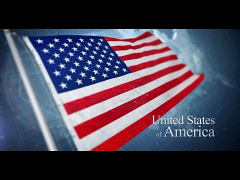 USA Flag Intro | After Effects Template