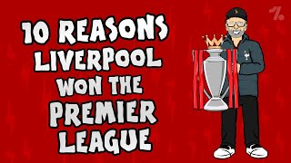 10 reasons why Liverpool won the Premier League title! ► Onefootball x 442oons