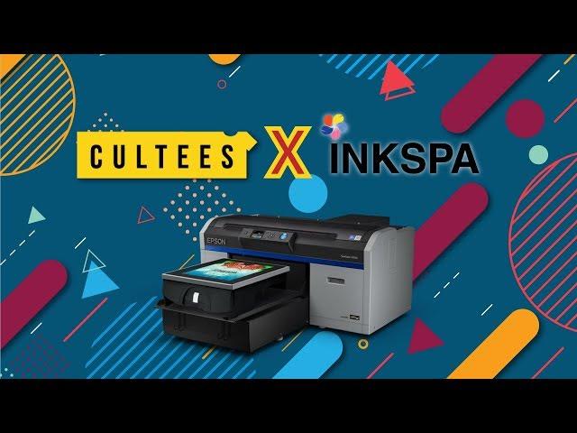 รีวิว จาก ร้านสกรีนเสื้อ CULTEES ลูกค้า INKSPA ที่เลือกใช้เครื่องพิมพ์เสื้อ Epson F2130