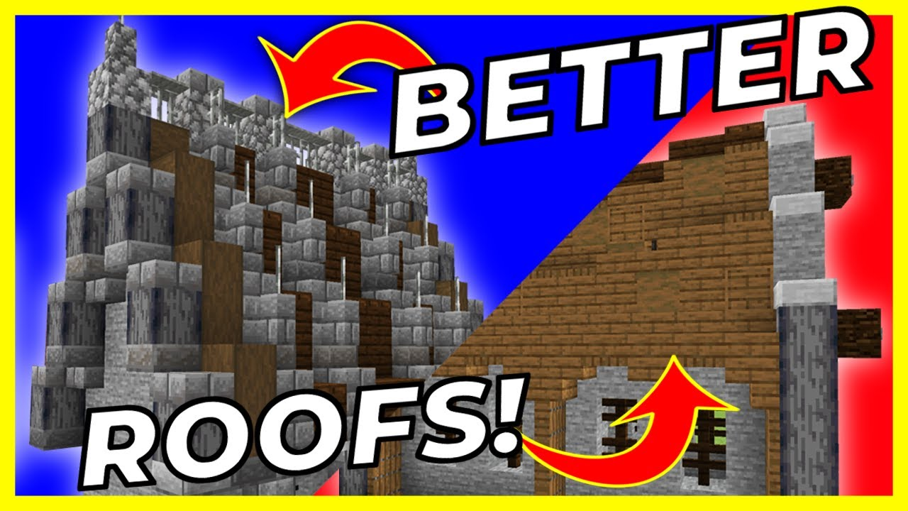 How To Make Awesome Roofs in Minecraft (Part 2)