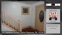 923 Baldwin Street, Castle Shannon, PA 15234