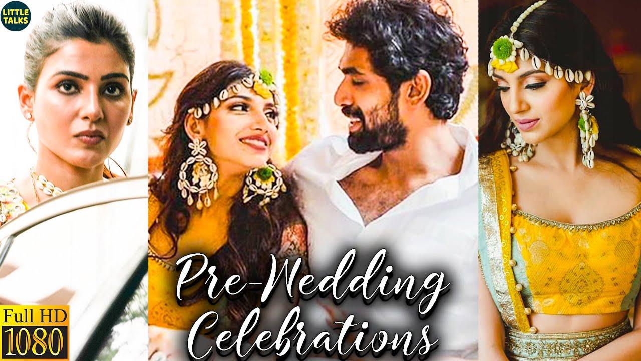 Rana Daggubati & Miheeka Bajaj's Pre Wedding Celebration   Lockdown Marriage   Samantha's Surprise