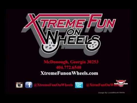 Xtreme Fun On Wheels Mobile Gaming Trailer Atlanta Commercial