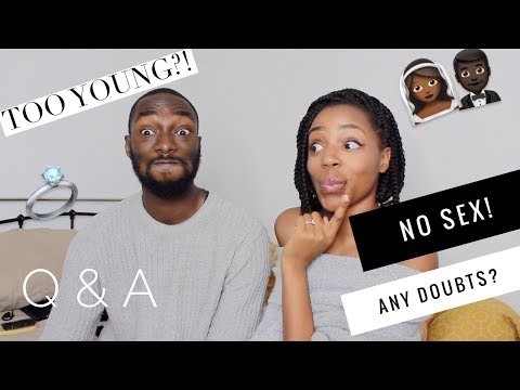 NO SEX UNTIL MARRIAGE  GETTING MARRIED YOUNG  Q&A WITH KEITH
