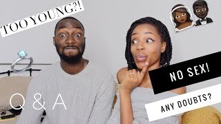 NO SEX UNTIL MARRIAGE | GETTING MARRIED YOUNG | Q&A WITH KEITH