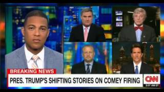 Don Lemon Panel discussion on Trump only speaking for himself when it comes to collusion with Russia