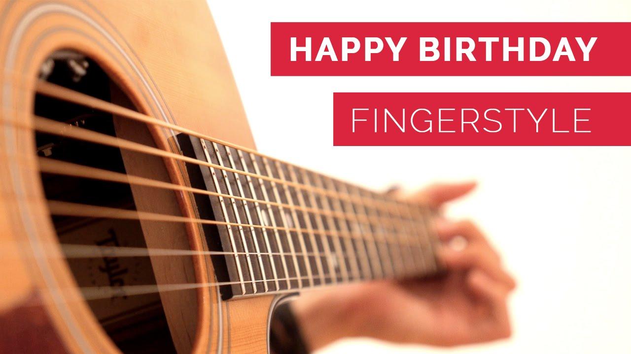 Tobias Rauscher Happy Birthday Percussive Fingerstyle