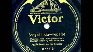 """Paul Whiteman & His Orchestra """"Cho-Cho San"""" & """"Song Of India"""""""
