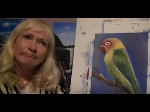 Bloopers, from Allison Prior Acrylic Painting for Beginners video's too Funny..