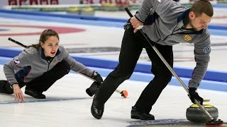CURLING: RUS-CHN WCF World Mixed Doubles Chp 2016 - Final - HIGHLIGHTS