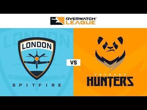 London Spitfire vs Chengdu Hunters   Week 20   APAC Day 1