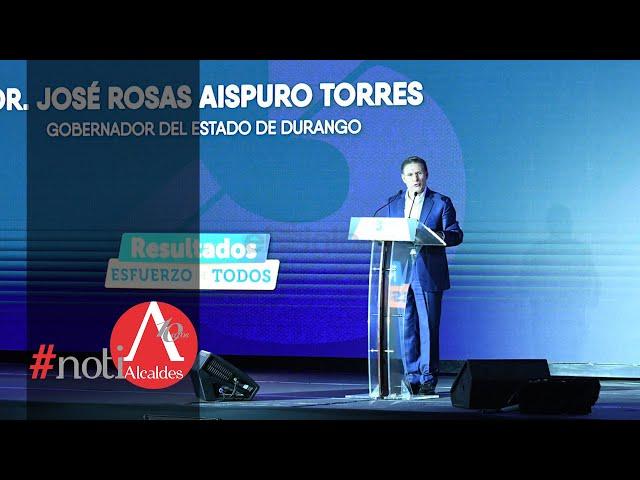 Noti Alcaldes: Rinde Rosas Aispuro tercer informe de gobierno