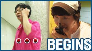 [RUNNINGMAN BEGINS] [EP 14-3]   Jihyo gets Jongkook's NAMETAG (๑°⌓°๑) (ENG SUB)