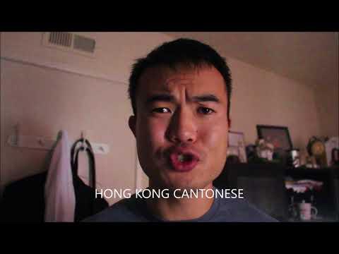 Hong Kong Cantonese versus Guangzhou Cantonese