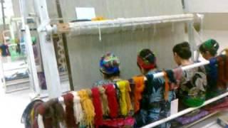 так ткут ковры(купить настоящий туркменский ковер www.baharcarpets.ru., 2010-04-12T16:40:08.000Z)