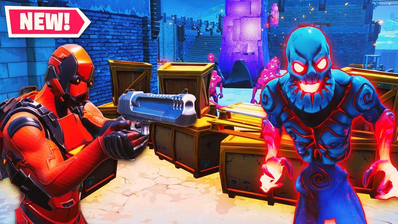 Zombie Attack Escape Challenge Fortnite Creative