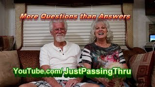 5 Questions to think about before Full Time RV Lifestyle